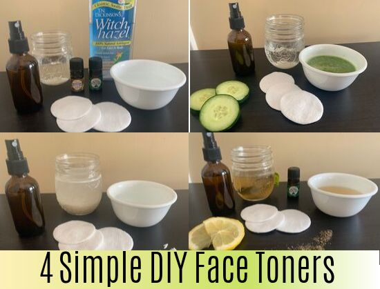 4 Simple DIY Face Toners That Give Powerful Result…