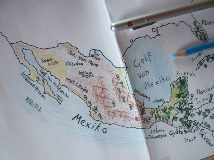 WONDERFUL geography/history study, etc. of Mexico