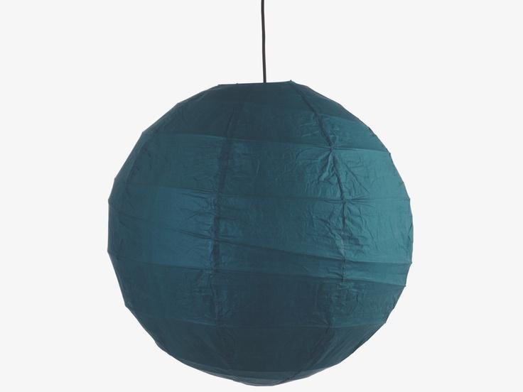 BOULE JAPONAISE BLUE Organic Pendant shade - Pendants- HabitatUK