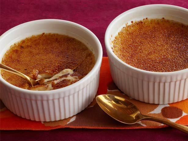 Get Pumpkin Creme Brulee Recipe from Food Network