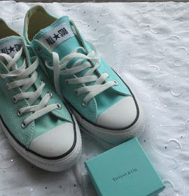 Tiffany Blue Converse? Yes and Please!
