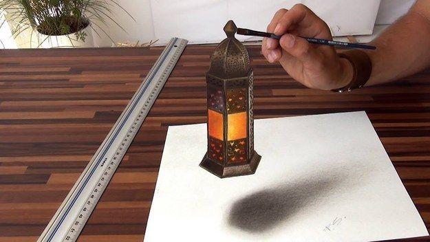 Eindrucksvolle 3D-Zeichnungen von Stefan Pabst