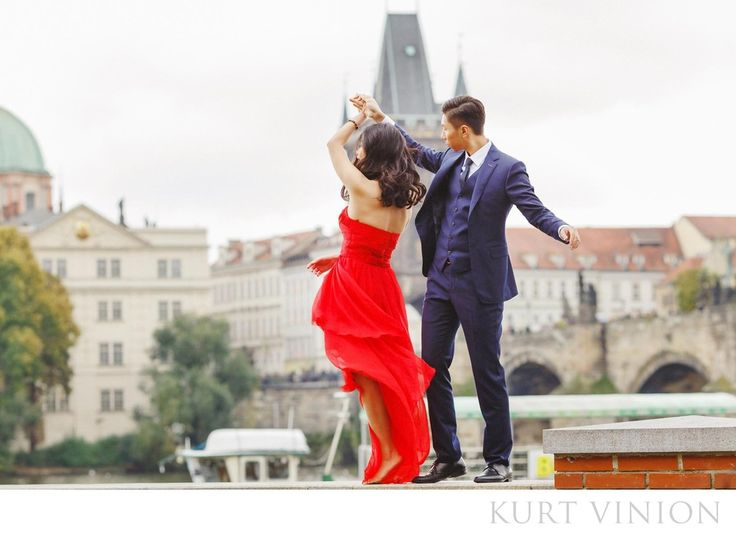 London wedding & Prague pre-weddings photographer - pre wedding photos Prague a dance in red: destination pre wedding photos & a surprise marriage proposal in Prague featuring Rebecca & Frank  Our latest couple Rebecca and Frank hail from&nbsp,Shanghai, decided to have a photo session in&nbsp,Prague after traveling around Europe.&nbsp,Unbeknownst to Rebecca, Frank also had a surprise engagement ring –&nbsp,and what followed was a wedding proposal that was live streamed to the world…