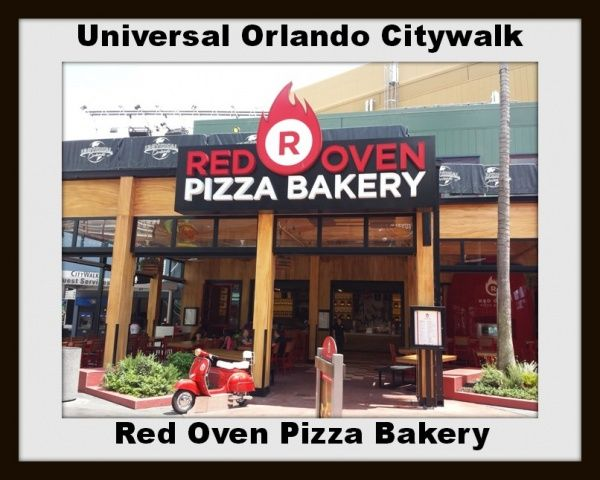 Linda takes us over to city walk to enjoy the new #RedOvenPizzaBakery