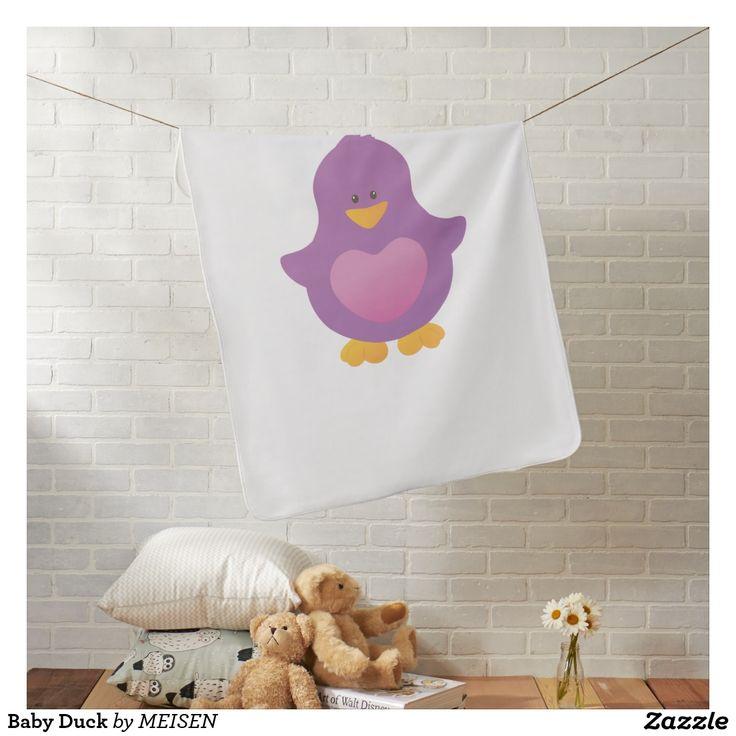 Baby Duck Buggy Blanket