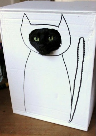 how to make cardboard cutouts from pictures