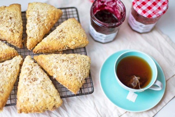 Breakfast Muesli Scones with Alpen Cereals