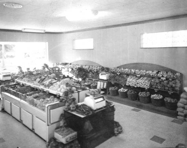 First Publix super market - Winter Haven, Florida, 1940.