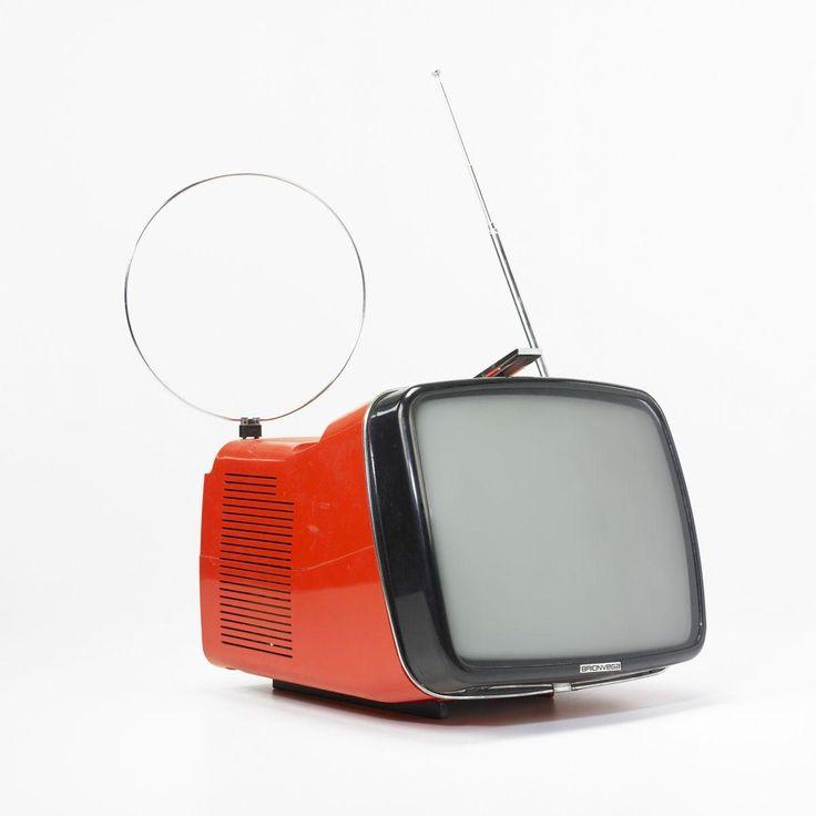 Algol Televion for Brionvega. by Richard Sapper and Marco Zanuso. Italy 1964