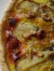 ⇒ Le nostre Bimby Ricette...: Bimby, Quiche con Formaggio e Pere