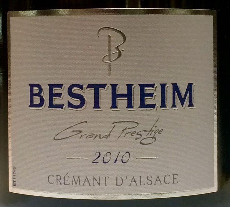 Bestheim Grand Prestige millésime 2010, une valeur sûre, un fleuron des Crémants d'Alsace !
