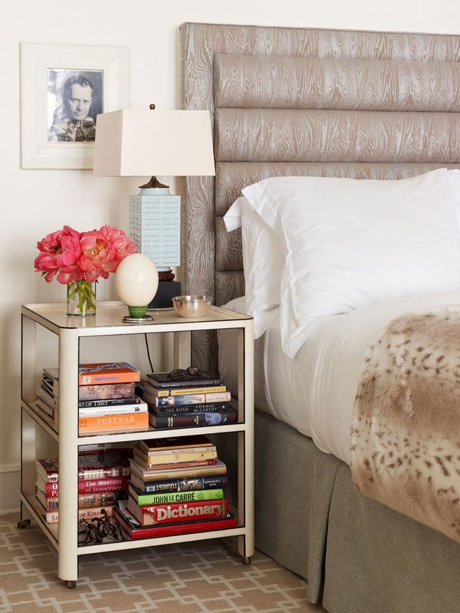combo headboard nightstand with nightstands attached