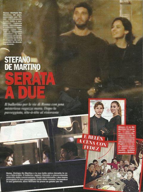 Stefano De Martino smentisce serata con ragazza misteriosa - Spettegolando