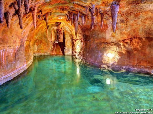 magical indoor cave pool in fredericksburg tx