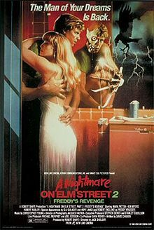 A Nightmare on Elm Street 2 - Freddy's Revenge (1985) theatrical poster.jpg