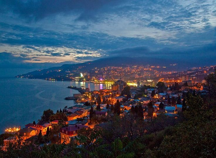 Crimea#goodnight#yalta#four seasons# breathtaking