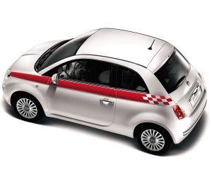 Fiat 500 Sports Side Stripes