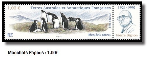 French Southern and Antarctic Territories 2011. I love this stamp.