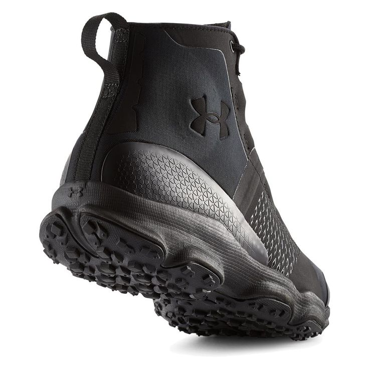For a versatile, multi-purpose tactical boot, Under Armour presents the Speedfit Hike. Designed with an anatomically molded synthetic leather and textile upper, this boot provides superior comfort, protection and support in a lightweight, compact frame. The rugged rubber outsole can handle any terrain with optimal grip and maintains traction on rough, uneven surfaces. The removable OrthoLite insole is antimicrobial and provides all-day cushioning for extended periods of wear. The DWR…