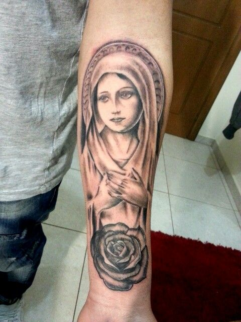 1000 ideas about virgin mary tattoos on pinterest for Holy mary tattoo