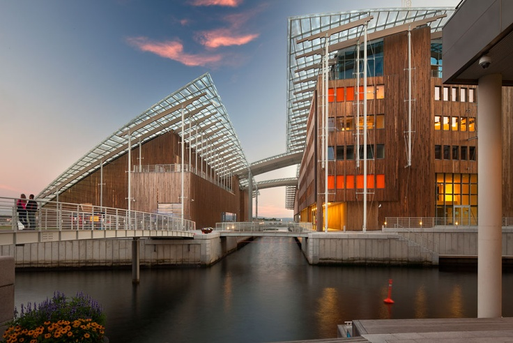Oslo's Astrup Fearnley Museet designed by Renzo Piano opens to the public on 29 sept 2012