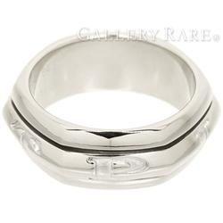 ピアジェ リング ポセション バンドーロゴ入 K18WGホワイトゴールド リングサイズ64 PIAGET Possession メンズ 指輪 ジュエリー