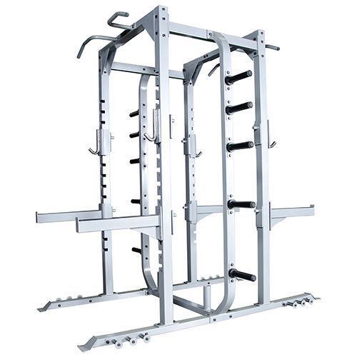 The #Champion #Double #Sided #Half #Rack is a #weightlifter's #dream. It can #accommodate two individuals simultaneously. It contains 10 #weight #storage #horns. The #bar catches easily and safeties have bar guards. If #safety is a big concern for you, then this is the #piece of #equipment that you want! This is #perfect f#or gyms, high schools, and #workout rooms.