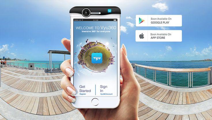 Vyu360™, Immersive 360° Media for Everyone.