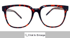 Bentley Square Wayfarer Glasses - 303 Tortoise