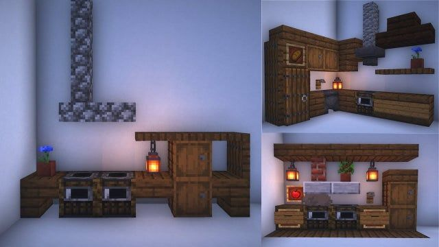 How To Make A Small Kitchen In Minecraft Brainly