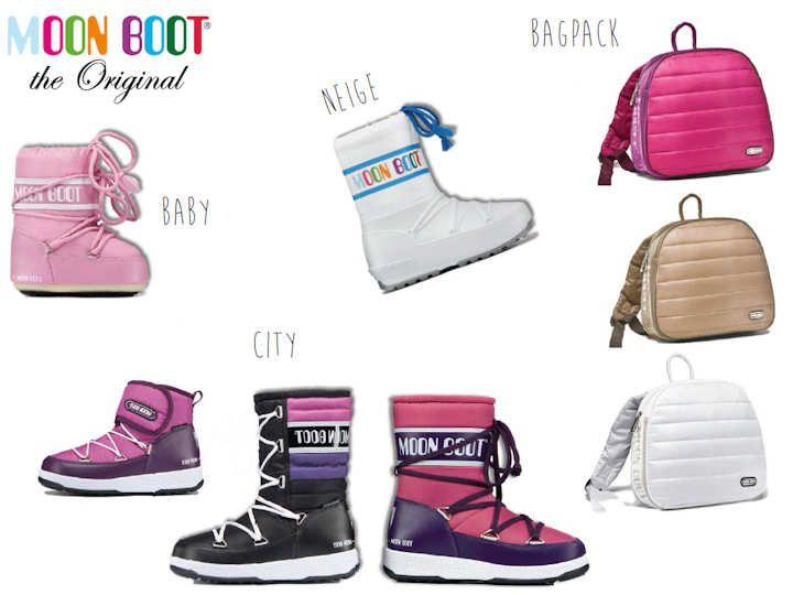 Sac et chaussures Moon Boot pour fille ♥ @kibodiosocial