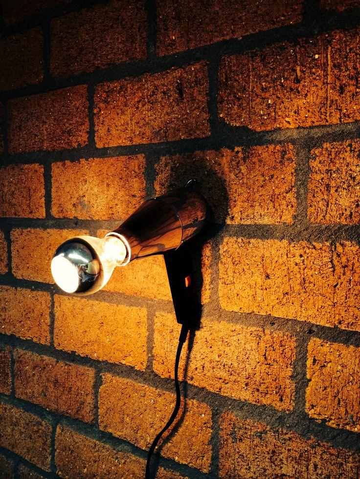 """Wall Blower"" lamp by Briight Vintage&Bulbs"