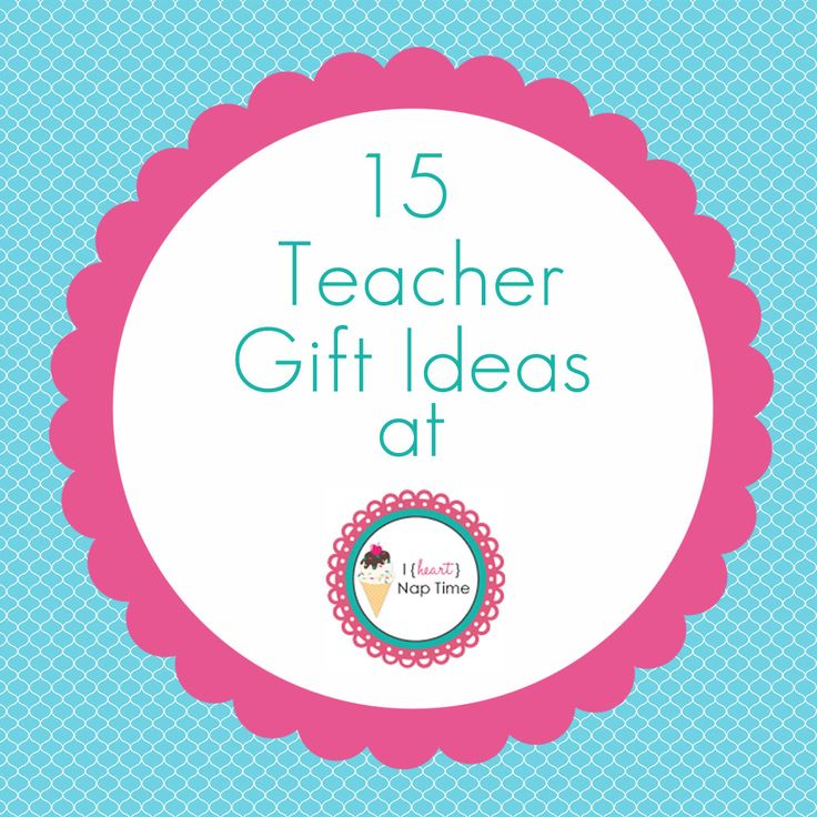 15 fab teacher gift ideas