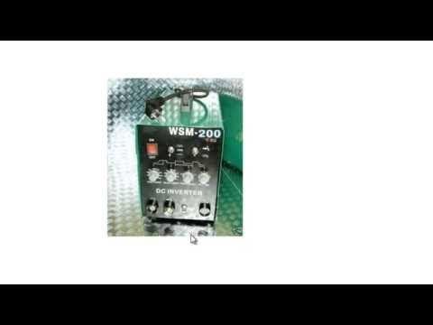 billiges / günstiges WIG Schweißgerät (HST TIG WIG MMA WSM 200 Amp HF-Zün)…