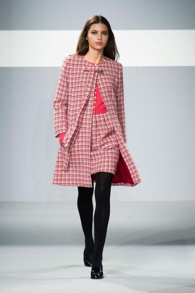 Marie-Claire - Défilé Agnès B. automne hiver 2014-15 : Des carreaux pour un style preppy ! #PinPFW