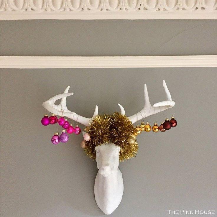 25+ Unique Stag Head Ideas On Pinterest