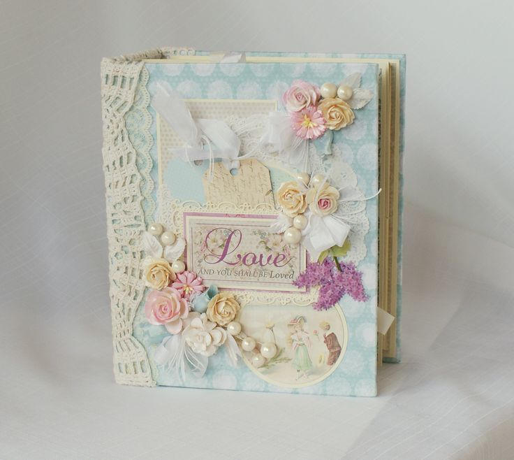 "Melissa Francis ""Love"" Shabby Mini Album - Scrapbook.com"