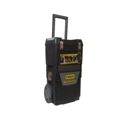 Mobile Work Center Tool Storage Box Rolling Portable Tools Toolbox Case Workshop
