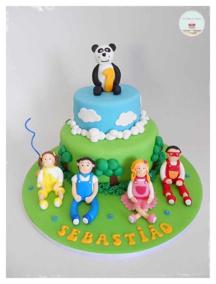 """Children´s Cake """"Panda e os Caricas"""" Panda TV"""