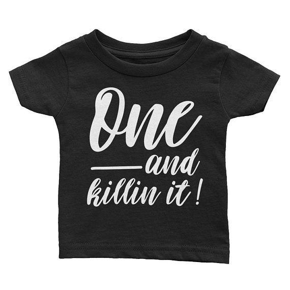 Awesome 1 Year Old T-Shirt First 1st Birthday Gift Ideas For 1 Year Old Girls