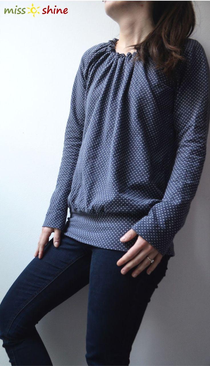 Im Herbst/Winter hülle ich mich immer total ideenlos in gekaufte unifarbene Shirts. Ich weiß auch nicht warum. Damit ist jetzt Schluss. Neue...