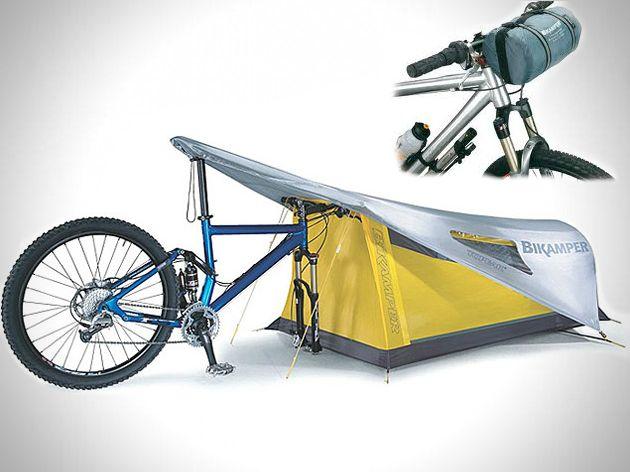 ascesorios para bicicletas | Bikamper es una tienda de campaña creada por Topek…