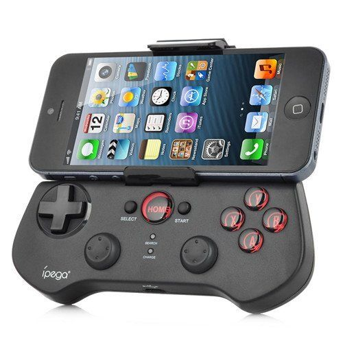 GadgetZone Rechargeable Wireless Bluetooth Game Controller Gamepad Joystick for iPhone / iPod / iPad / Android Phone / Tablet PC Gadget Zone #iphonecontroler #originalsgadgets #coolgadgets