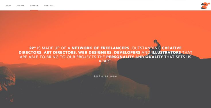 22º is made up of a network of freelancers. Outstanding Creative Directors, Art Directors, Web Designers, Developers and Illustrators that are able to...