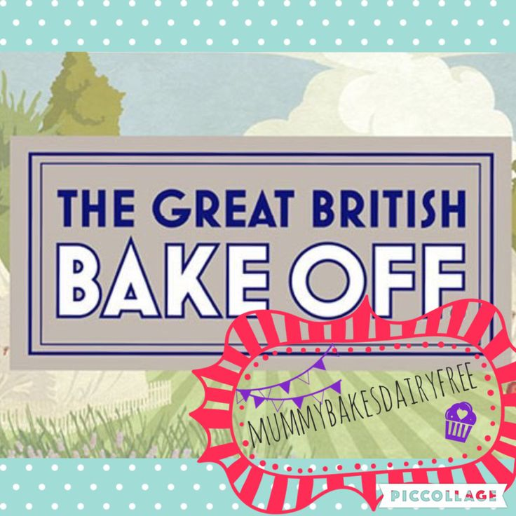 So that's it for the Great British Bake Off 2016 and for mummybakesdairyfree does the Great British Bake Off. I've really enjoyed baking along each week as it's definitely made me…