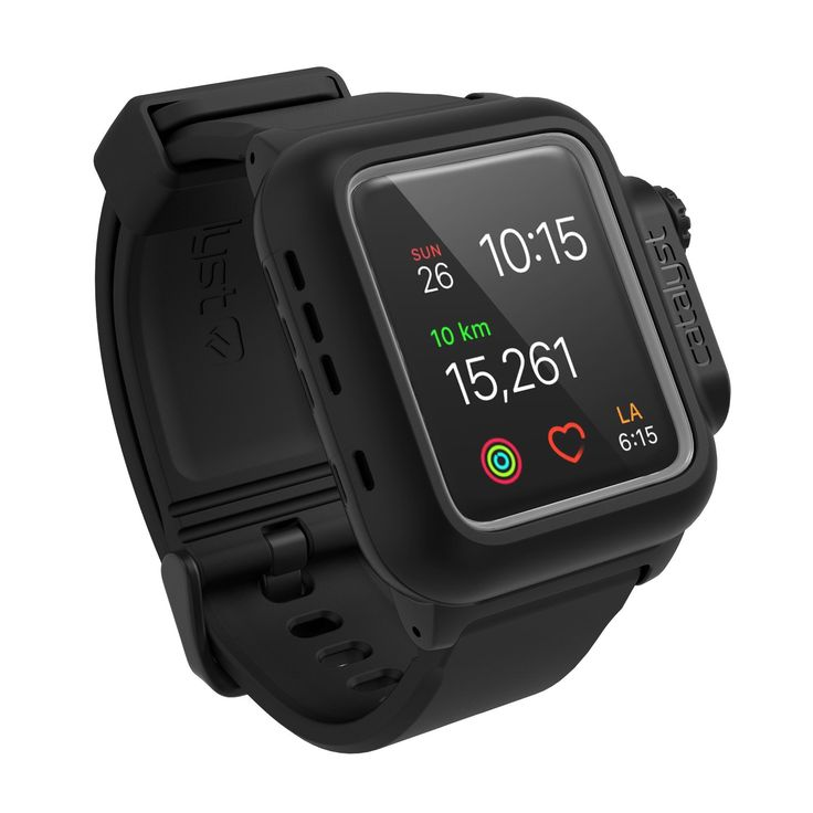 Amazon.com: Catalyst Case for Apple Watch 42mm Series 2 - WaterProof Shock Resistant (Stealth Black): Cell Phones & Accessories | @giftryapp