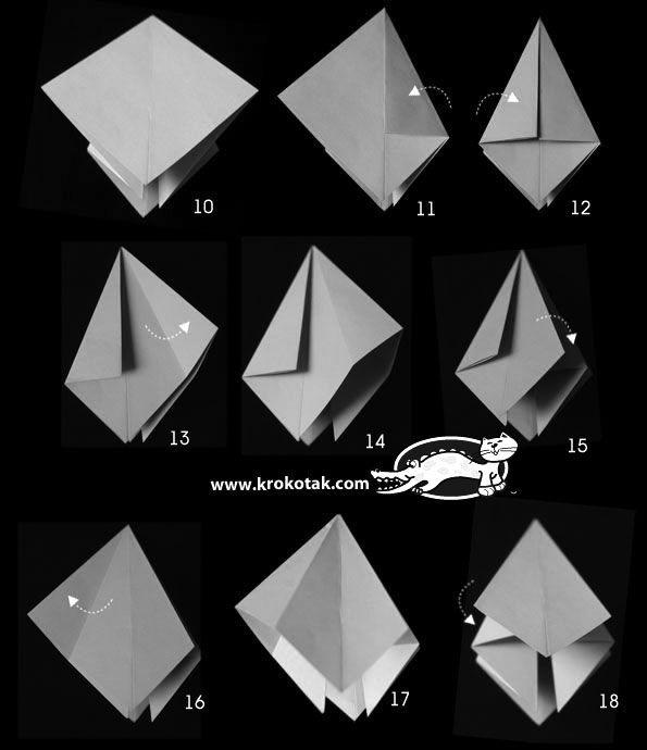 Paper diamonds for decoration