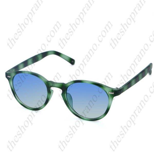 Γυαλιά ηλίου tartaruga με χρωματιστό φακό ελαφρύ καθρέφτη UV400