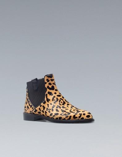 ENKELLAARS MET CHELSEA PRINT -: Leopard Print, Leopards Prints Shoes, Ankle Boots, Shoes Size, Shoes Boots, Boots Zara, Prints Chelsea, Boots Shoes, Shoes Shoes