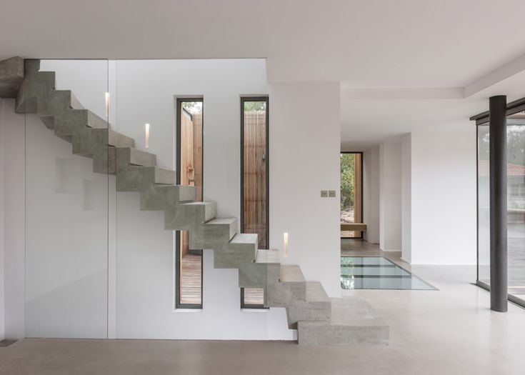 17 mejores ideas sobre escaleras de hormigon en pinterest for Escaleras de cemento para interiores